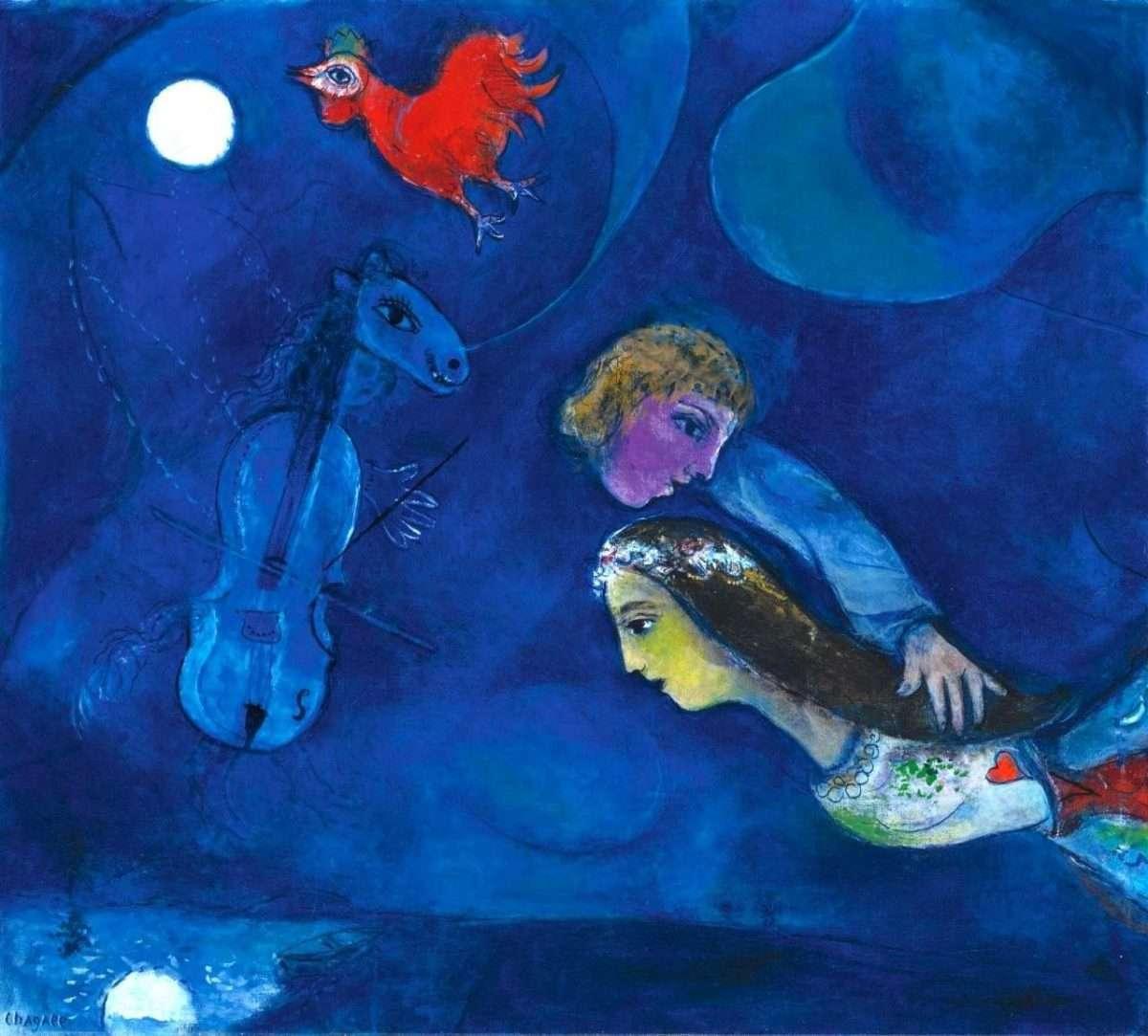 Nel blu dipinto di blu: Marc a casa di Dedo